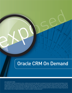 Oracle CRM Exposed Free Report